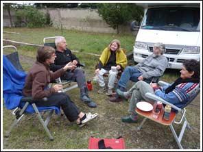 Ingrid en henro reizen met de camper door azi georgi for Bouwvallen te koop